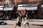 Basket på Drottninggatan