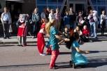 Dans på Drottninggatan